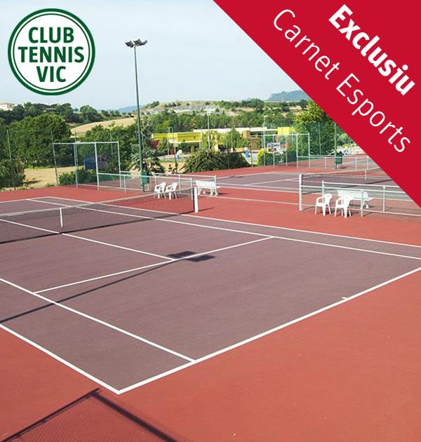 Club Tennis Vic - U-Vals UVic - Carnet Esports UVic