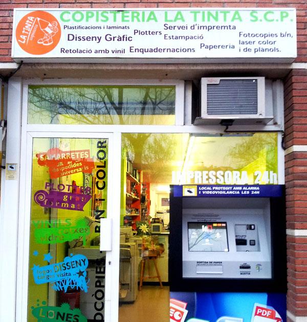 Copisteria La Tinta - U-Vals UVic