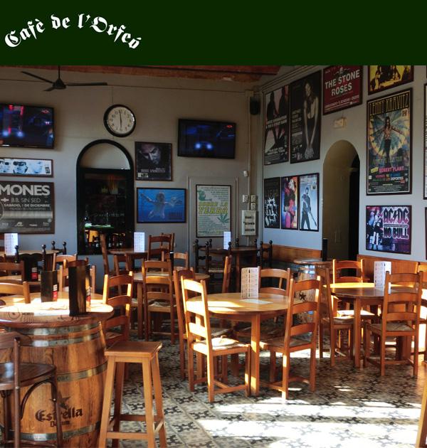 Cafè de l'Orfeó - U-Vals UVic