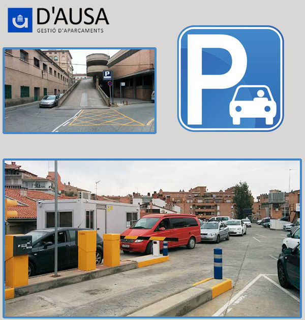 Parking Vic Mercat Municipal UVic U-Vals